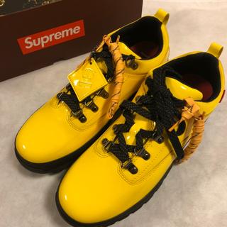 シュプリーム(Supreme)のシュプリーム/ティンバーランド 靴 28cm  シューズ入れ、ステッカーおまけ(スニーカー)