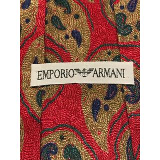 エンポリオアルマーニ(Emporio Armani)の【ARMANI】美品 ネクタイ インパクトある総柄(ネクタイ)