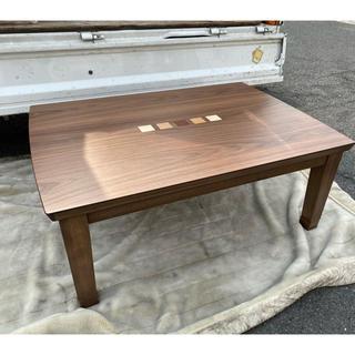 コイズミ(KOIZUMI)の2か月使用 2019年製 コイズミ 家具調こたつテーブル 105x75(こたつ)