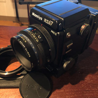 マミヤ(USTMamiya)のMamiya RZ67 Pro II SekorZ 110mm マミヤ セコール(フィルムカメラ)