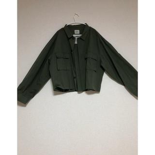 サンタモニカ(Santa Monica)のus army BDU jacket khaki(ミリタリージャケット)