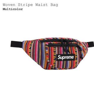 シュプリーム(Supreme)のSupreme Woven Stripe Waist Bag(ウエストポーチ)