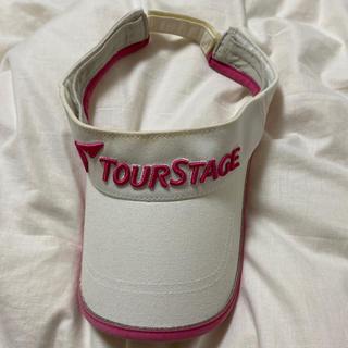 ツアーステージ(TOURSTAGE)のツアーステージ サンバイザー(ウエア)