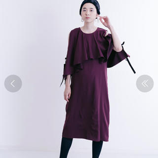 メルロー(merlot)のメルロープリュス ワンピース(ミディアムドレス)