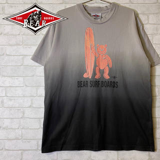 ベアー(Bear USA)のBear USA ベアー サーフボード グラデーションTシャツ/Mサイズ(Tシャツ/カットソー(半袖/袖なし))