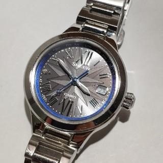 カシオ(CASIO)のCASIO腕時計 防水電波ソーラー 定価48,400円!(腕時計)