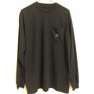 ニードルス(Needles)のneedles ロングスリーブ Tシャツ ブラック 値下げしました!!(Tシャツ/カットソー(七分/長袖))