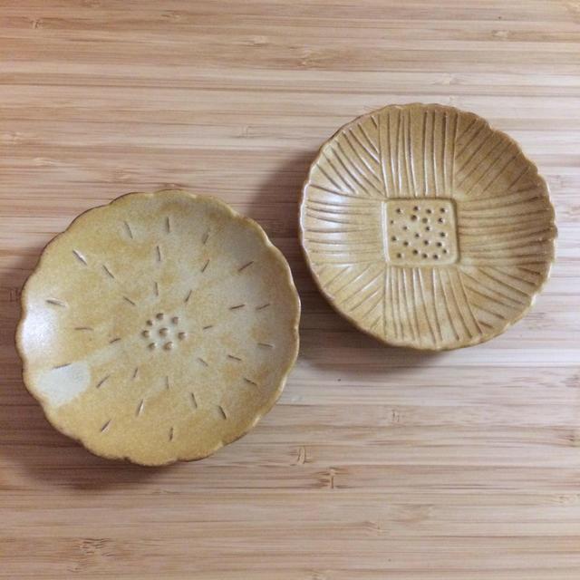 quatre saisons(キャトルセゾン)のキャトルセゾン  小皿 インテリア/住まい/日用品のキッチン/食器(食器)の商品写真
