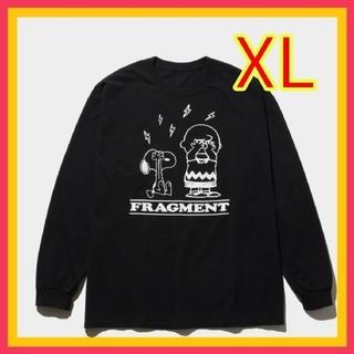 フラグメント(FRAGMENT)の【新品】FRAGMENT PEANUTS LONG SLEEVE TEE  (Tシャツ/カットソー(七分/長袖))