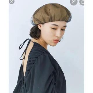 CA4LA - 今季 完売品 CA4LA カシラ ベレー帽 チュール付
