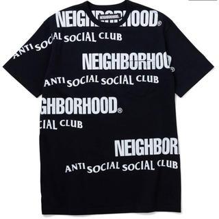 ネイバーフッド(NEIGHBORHOOD)のNEIGHBORHOOD アンチ ソーシャル ネイバーフッド 半袖 Tシャツ(Tシャツ/カットソー(半袖/袖なし))