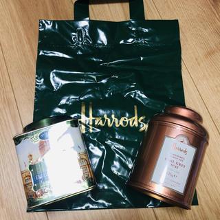 ハロッズ(Harrods)の【Londonで購入】Harrods Tea 2つセット(茶)