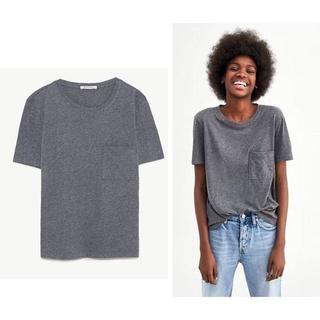 ザラ(ZARA)のZARA ザラ ポケット付Tシャツ S(Tシャツ(半袖/袖なし))
