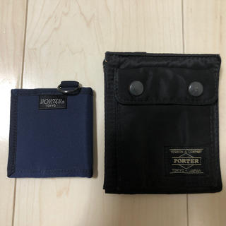 ポーター(PORTER)のポーター財布及びコインケース(新品未使用)セット売(財布)
