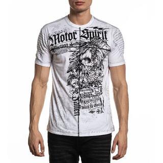 Affliction Mortal Coil Tシャツ サイズL(Tシャツ/カットソー(半袖/袖なし))