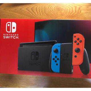 ニンテンドースイッチ(Nintendo Switch)のNintendo Switch 本体 (バッテリー持続時間が長くなったモデル)(家庭用ゲーム機本体)