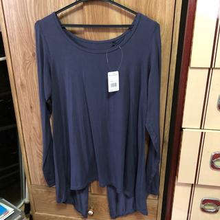 ピーチジョン(PEACH JOHN)のバックスリットロングTシャツ(Tシャツ/カットソー(七分/長袖))