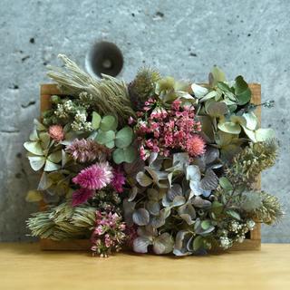flower box -初夏-(ドライフラワー)