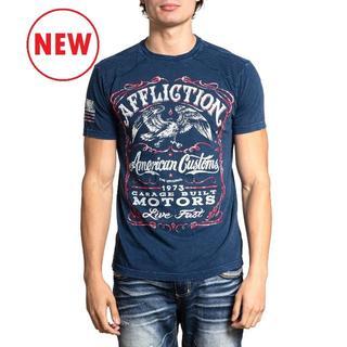 Affliction AC Single Barrel Tシャツ サイズS(Tシャツ/カットソー(半袖/袖なし))