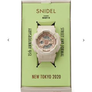スナイデル(snidel)のSNIDEL×CASIOBaby-G(腕時計)