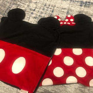 ディズニー(Disney)のミッキー ミニー クッションカバー2枚セット(クッションカバー)