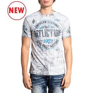 Affliction GarageリバーシブルTシャツ サイズM(Tシャツ/カットソー(半袖/袖なし))