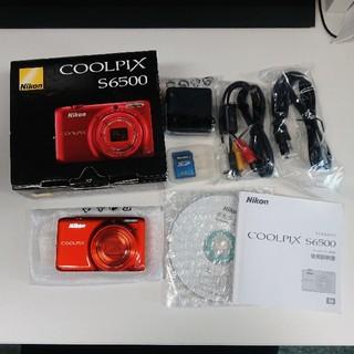 ニコン(Nikon)のNikonニコン クールピクスS6500 マンダリンオレンジ(コンパクトデジタルカメラ)
