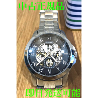 フォッシル(FOSSIL)の正規品 FOSSIL GRANT  機械式 自動巻き スケルトン(腕時計(アナログ))