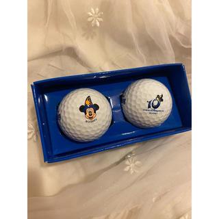 ディズニー(Disney)の【◆新品未使用!TokyoDisneySea 10th ゴルフボール*】(その他)
