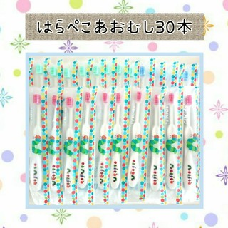 はらぺこあおむし歯ブラシ30本(歯ブラシ/歯みがき用品)