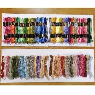 オリンパス(OLYMPUS)の刺繍糸 OLYMPUS★99本★set  オリムパス 25番 刺しゅう糸(生地/糸)