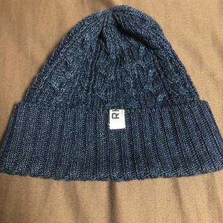 ロンハーマン(Ron Herman)のかめ様専用新品同様ロンハーマンニット帽ネイビー(ニット帽/ビーニー)