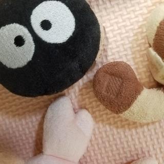 ジブリ(ジブリ)のトトロ ジブリ ぬいぐるみ ガラガラ セット ベビー おもちゃ(がらがら/ラトル)