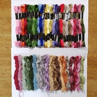 オリンパス(OLYMPUS)の刺繍糸 OLYMPUS★45本★set  オリムパス 25番 刺しゅう糸(生地/糸)