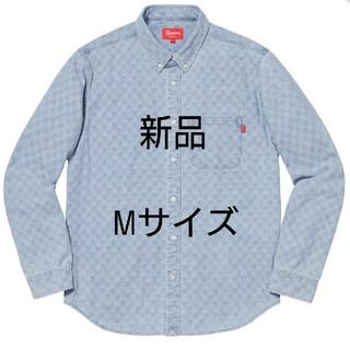 シュプリーム(Supreme)の新品 レア シュプリーム チェッカード デニム シャツ M サイズ (シャツ)