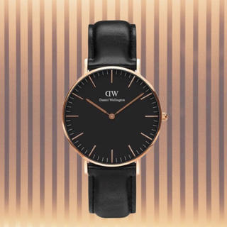 ダニエルウェリントン(Daniel Wellington)の安心保証付き【40㎜】ダニエルウエリントン 腕時計〈DW00100127〉(腕時計(アナログ))