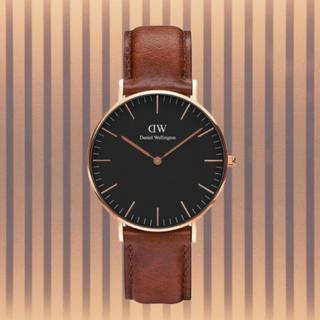 ダニエルウェリントン(Daniel Wellington)の安心保証付き【40㎜】ダニエルウエリントン 腕時計〈DW00100124〉(腕時計(アナログ))