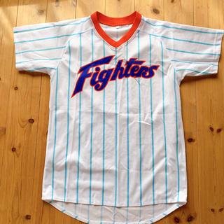 ホッカイドウニホンハムファイターズ(北海道日本ハムファイターズ)のファイターズ 復刻版 ユニフォーム Tシャツ(応援グッズ)