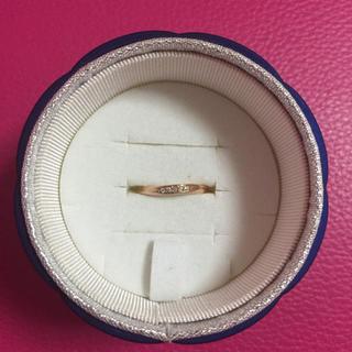 ヨンドシー(4℃)の4℃ ピンクゴールドリング 5号(リング(指輪))