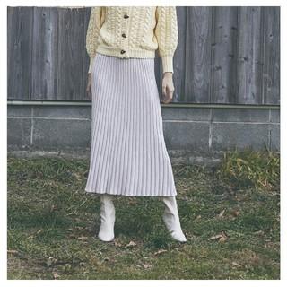 シールームリン(SeaRoomlynn)のsearoomlynn スリムプリーツスカート(ロングスカート)