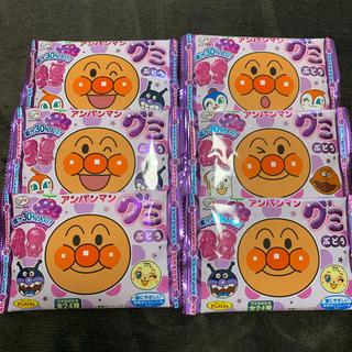 アンパンマン(アンパンマン)のアンパンマン グミ ぶどう 6個(菓子/デザート)