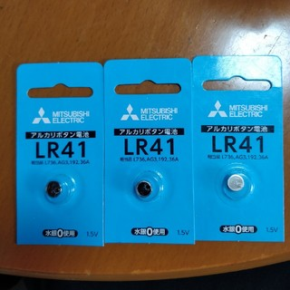 ミツビシ(三菱)の三菱LR41アルカリボタン電池(日用品/生活雑貨)