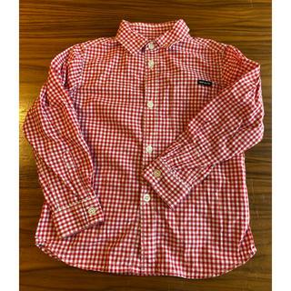 フィス(FITH)のquoti use fith ギンガムチェックシャツ 110(ブラウス)