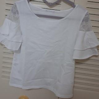 ウィルセレクション(WILLSELECTION)の新品 ウィルセレクション レースTシャツ カットソー(Tシャツ(半袖/袖なし))