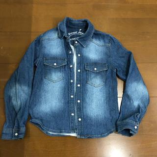 シマムラ(しまむら)のデニムシャツ キッズ 130(ジャケット/上着)