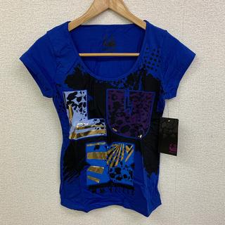 ◆新品未使用◆luxirie Tシャツ ブルー Lサイズ