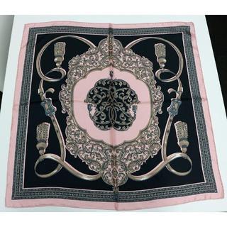 新品 manipuri マニプリ シルクスカーフ pinkbelt tassel(バンダナ/スカーフ)