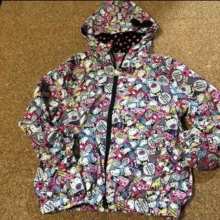 サンリオ(サンリオ)のハローキティ ウィンドブレーカー KIDS子供服130(ジャケット/上着)