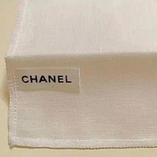 シャネル(CHANEL)のシャネル コットン100% ガーゼハンカチ クロス(ハンカチ)