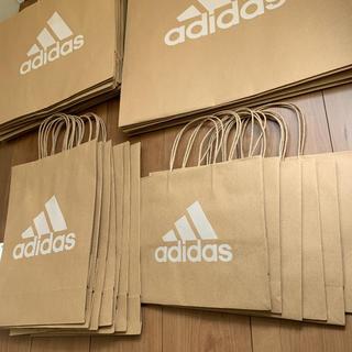 アディダス(adidas)のadidas 紙袋 36枚 大 中 小 まとめ売り アディダス(ショップ袋)